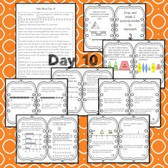 This Representing Fractions teaching unit provides 10 days of instruction Problem Solving Activities, Teaching Activities, Teaching Math, Math Lesson Plans, Math Lessons, Reflection Math, Math Blocks, Data Tracking, Learning Targets