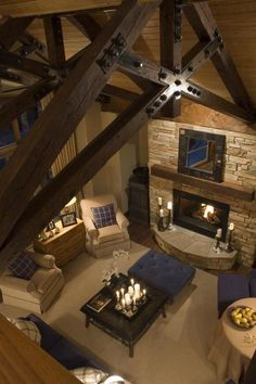 #wood trusses, wood trusses, #fireplace, fireplace