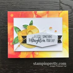 Box of Sunshine June 2020 Paper Pumpkin Alternate #2 Mary Fish, Stampin\' Pretty