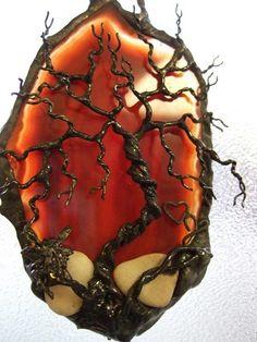 pics metal fairies decoractions | ... Tree of Life Fairy Agate | HeartJCreations - Metal Craft on ArtFire