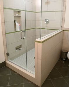 Shower Niche As Footrest For Shaving Contemporary Bathroom Stunning Bathroom Remodel Seattle 2018