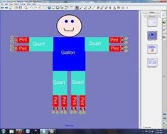 This SmartBoard lesson introduces students to U.S. customary units of measure, teaches them how to draw Gallon Man, and reviews the concepts at the...