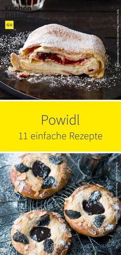 Schon mal Powidl selber gemacht? Das Zwetschgenmus aus der österreichischen und böhmischen Küche ist schon lange kein Geheimtipp mehr. Lass dich von unseren zahlreichen Powidl-Rezepten inspirieren. Sweet Bakery, Cupcakes, Bagel, Bread, Food, Sandwich Spread, Ancient Recipes, Plum Jelly, Diy