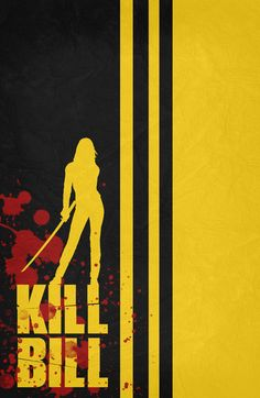 Kill Bill Vol 1 (2003) ~ Minimal Movie Poster by Begum Ozdemir #amusementphile