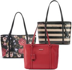 bbc830959 Dana Buchman Bella Tote Handbag (Various Colors), Kohl's - DealsPlus