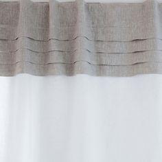 Imagen 2 del producto CORTINA LINO PANEL PLISADOS Zara Home, Linen Curtains, Panel, Bedroom, United Kingdom, Home Decor, United States, America, Home Crafts