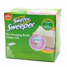 Swiffer Sweeper Dry Cloth - I'D BE LOST WITHOUT THESE!