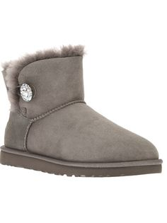UGG AUSTRALIA 'Mini Bailey Button Bling' Boot