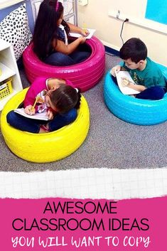 Looking for some new classroom ideas? Find the best ideas for classroom organization, classroom decoration, classroom management, fun ideas and more. Incorporate the last idea in your class and it will change your life! Classroom Hacks, Classroom Decor Themes, Classroom Design, School Classroom, Classroom Activities, Classroom Organization, Classroom Management, Teacher Blogs, Teacher Hacks