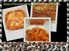 La cocina de Maetiare: Macarrones gratinados tomate y bacón