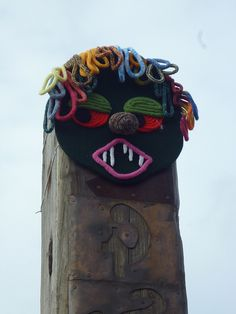 International Yarnbombing day - by graffitigrannys on Flickr