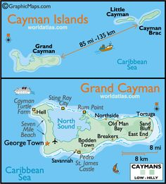 Such fun in the Cayman Islands...here is a nice map to show you the area