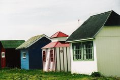 Ærø beach huts on the to do list Beach Cabana, Beach Huts, Beautiful Buildings, Beautiful Places, Wood Architecture, Good House, Cottage Homes, Danish Design, Historical Sites