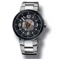 Oris Motorsport Skeleton Bracelet Watch - 73376684114MB