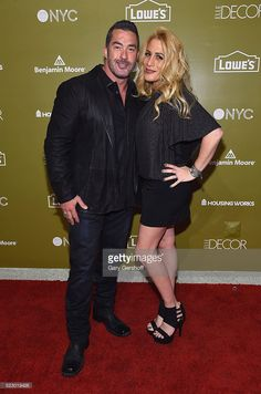 TV personalities Skip Bedell and Alison Bedell attend Housing Works Design On A Dime Opening Night Reception at Metropolitan Pavilion on April 21, 2016 in New York City.