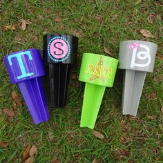 We're lovin our new Spiker colors! #spikers #monogram #beach #cupholder