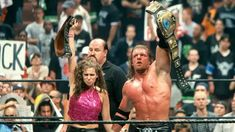 Dx Wwe, Wrestlemania 2000, Wwe Stephanie Mcmahon, Sgt Slaughter, Wwe Couples, Shawn Michaels, Triple H, Big Show, Women's Wrestling