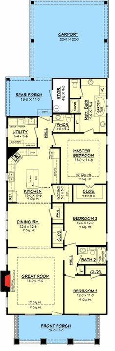 Plan W11778HZ: Corner Lot, Metric, Narrow Lot, Photo Gallery House Plans & Home Designs