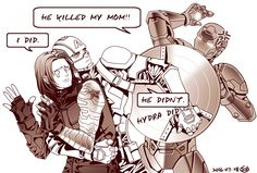 Poor Bucky! But it wasn't his fault!!