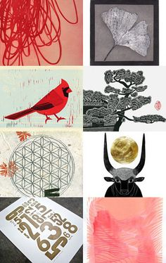 Find all these and more amazing, ORIGINAL art under the Browse Subcategories of Etching, Letterpress, Linocut, Lithography, Monoprints, Relief, Screenprints, Woodblock & More!