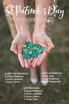 St. Patrick's Day Diffuser Blends