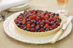 GF Summer Berry Tart