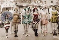Image result for 1920's swimming costume