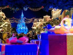 Mainstreet USA | Christmas Time | Disneyland Paris