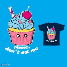 Delicious cupcake on Threadless