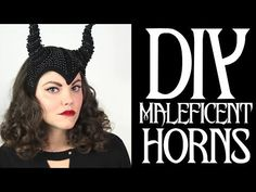 ▶ DIY Maleficent Inspired Horns - YouTube