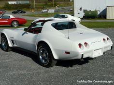 1975 Classic White Corvette Back.  Looks a lot like my husbands!