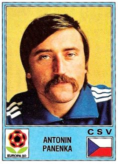 Antonín Panenka - Euro80  The inventer of the best ever penalty kick.