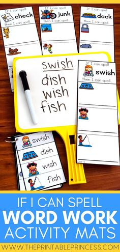 This Word Building Cards Bundle is great for word work activities! This Word Building Cards BUNDLE includes quick, easy to prep activities to help students read, build, and write CVC, CVCe, short vowel, and long vowel words. Great for rhyming words and word families