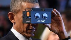 Barack Obama Just Tested a VR Headset and Loved It