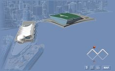 iMap Interactive Floor Plans for the Vancouver Convention Center - The Exterior.