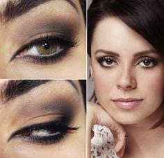 Tutorial – maquiagem neutra esfumada inspirada na Sandy