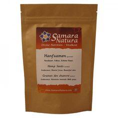 Hanfsamen geschält Samara, Nutrition, Cacao Powder, Calories, Superfoods, Natural, Pure Products, Coffee, Drinks
