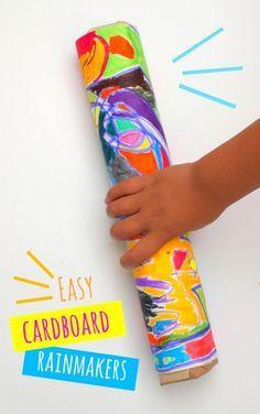 cardboard Rainmakers ever! easiest cardboard rainmakers ever- great preschool craft!easiest cardboard rainmakers ever- great preschool craft! Preschool Jungle, Jungle Crafts, Preschool Weather, Rainforest Crafts, Rainforest Preschool, Safari Crafts, Rainforest Theme, Dinosaur Crafts, Ocean Crafts