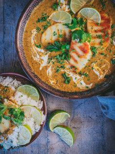 HALLOUMI-PINAATTICURRY JOKA SYNTYI VAHINGOSSA - Beach house kitchen Halloumi, Beach House Kitchens, Home Kitchens, 200 Calories, Garam Masala, Thai Red Curry, Menu, Ethnic Recipes, Food