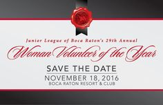 ea0caa35d6 The Junior League of Boca Raton s 29th Annual Woman Volunteer of the Year  Luncheon