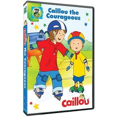 Naddez's Tidbyts : PBS Kids: Caillou: Caillou The Courageous Is Now Available On DVD!