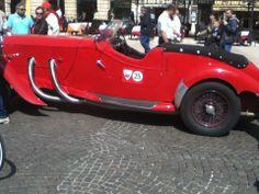 italie rome défilé voiture ancienne