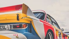 This BMW 3.0CSL is not Calder's original creation, rather a replica. But don't judge it too harshly as it was built with the intention of paying tribute to the original, which has travelled the world but is sadly never driven.