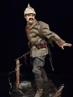 World at War (WWI, WWII, & Civil Wars) German Soldier, September 1914 (WW1) - OSW: One Sixth Warrior Forum