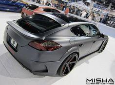 MIsha Designs Porsche Panamera kit