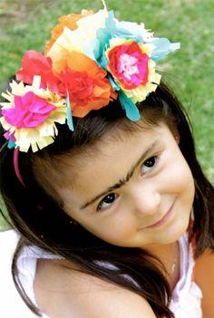 Las flores de Frida Kahlo paso a paso | Blog de BabyCenter @Carolina Krupinska Llinas