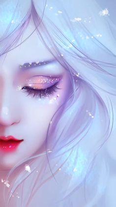 Fille Anime Cool, Art Anime Fille, Cool Anime Girl, Beautiful Anime Girl, Beautiful Girl Drawing, Fantasy Art Women, Beautiful Fantasy Art, Fantasy Girl, Anime Angel Girl