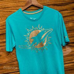 Men's New Era Aqua/Graphite Miami Dolphins Gold Collection On ...