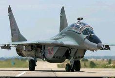 "Russian Air Force Mikoyan MiG-29UB ""Fulcrum-B"""