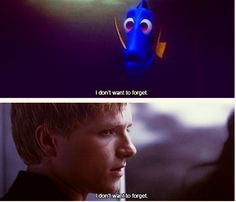 Dory and Peeta have a lot in common.